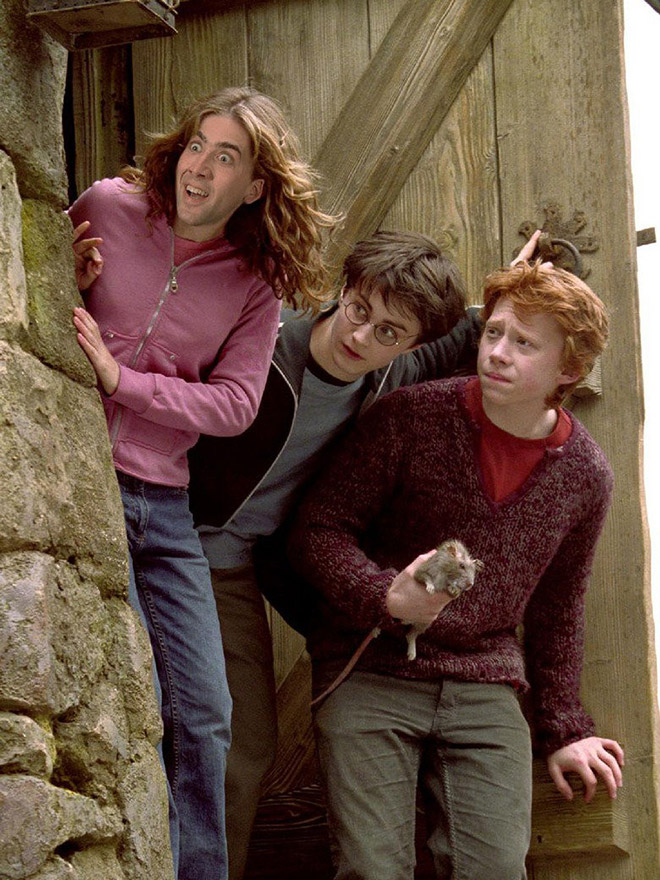 Nicolas Cage se encuentra con Photoshop.