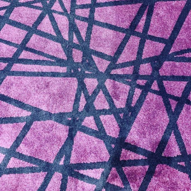 Aburrida alfombra del hotel.