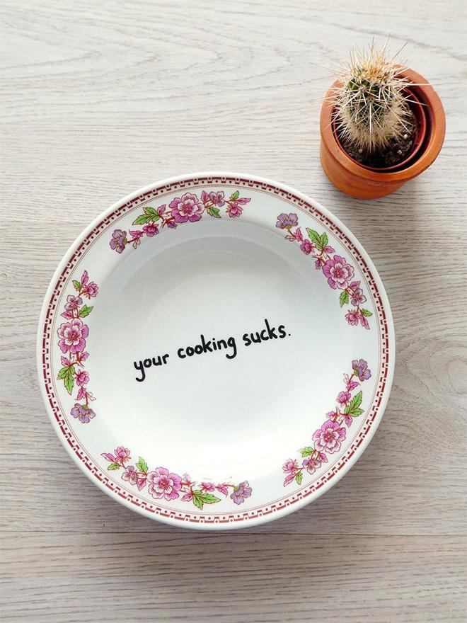 Tu cocina apesta.