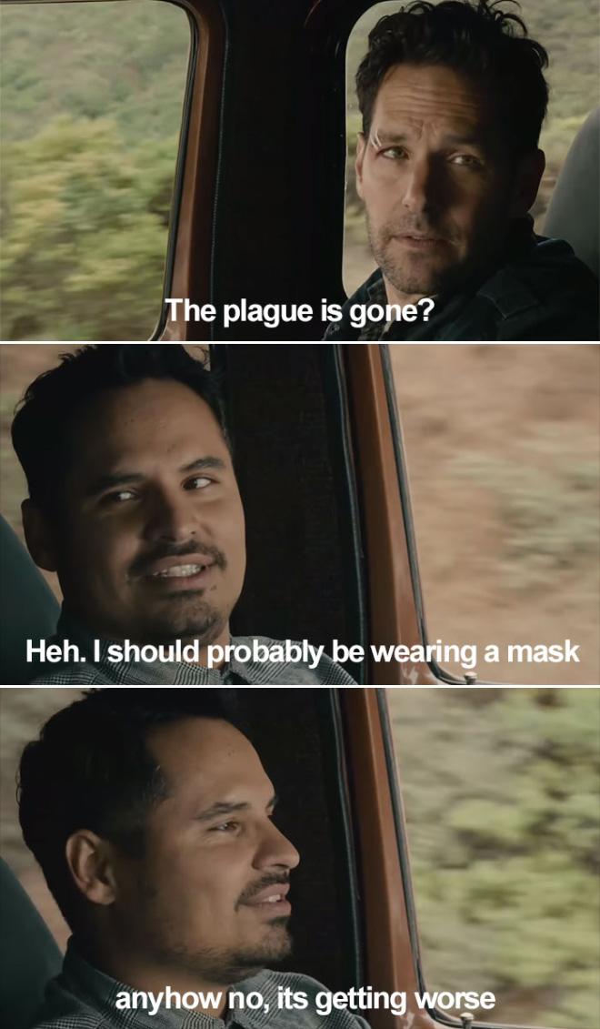 La plaga se ha ido?