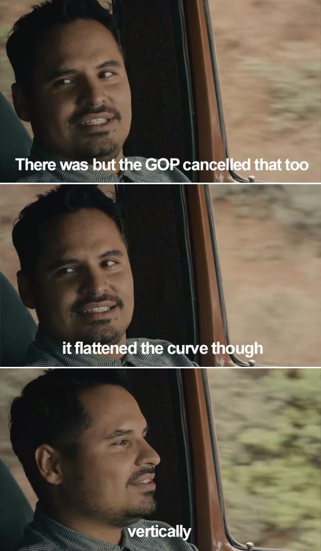 Aplane la curva, jajaja.