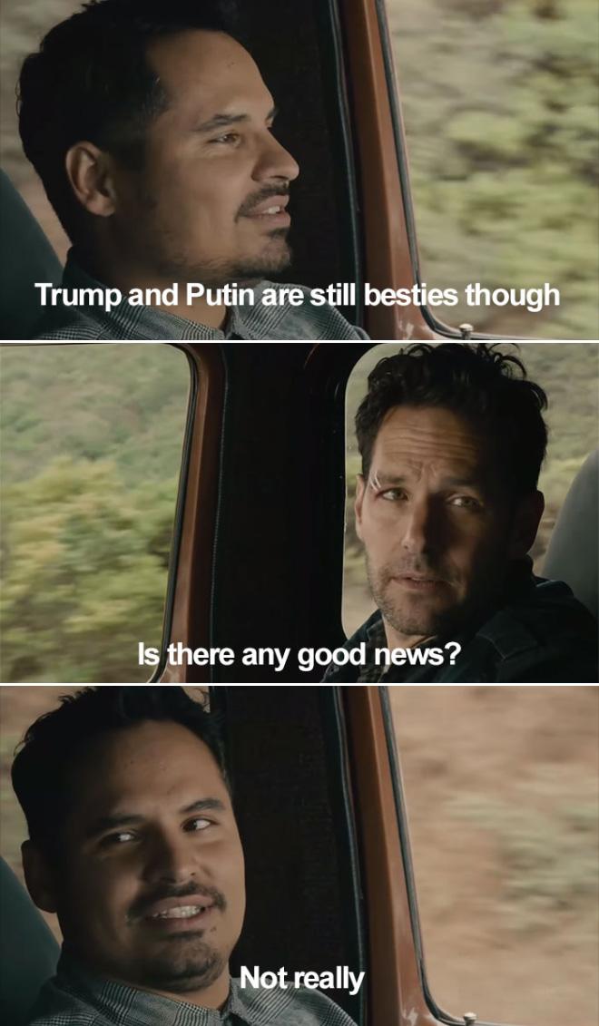 ¿Algunas buenas noticias?