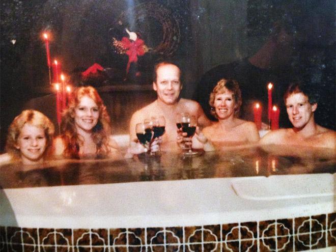 Foto de familia incómoda.