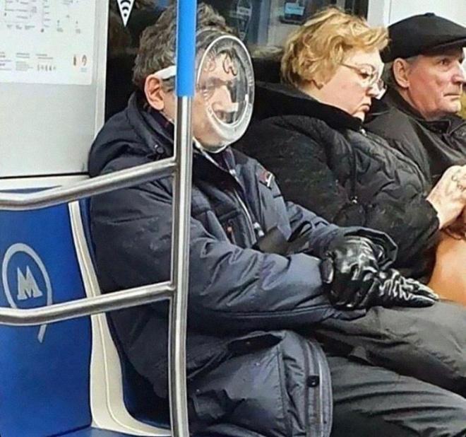 Las máscaras son duras.