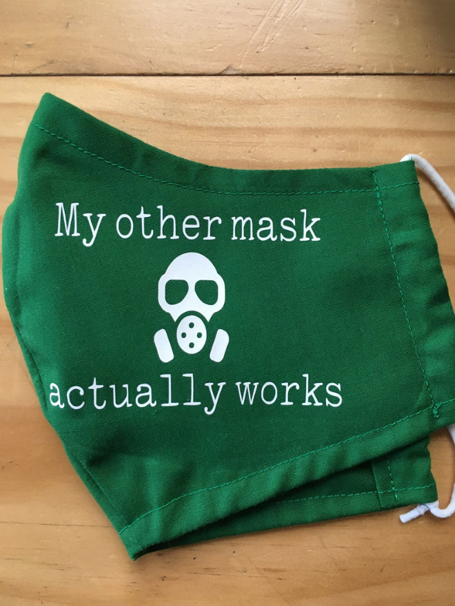 Mascarilla antienmascaramiento.