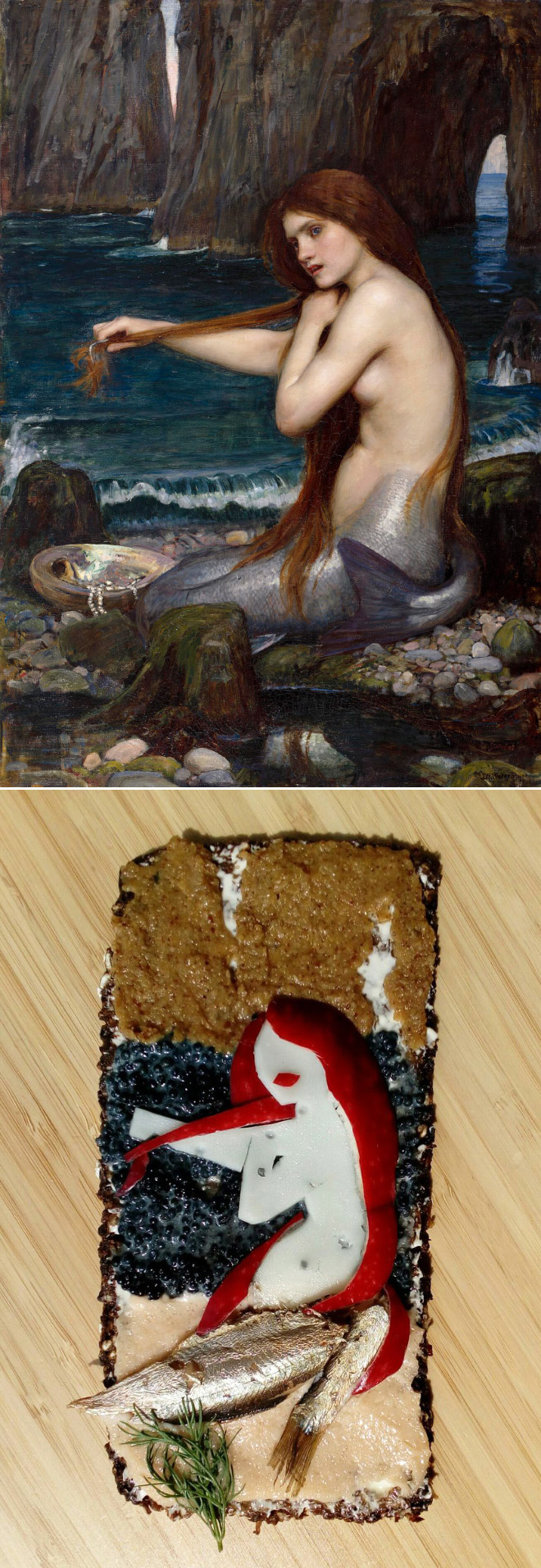 El arte del bocadillo.