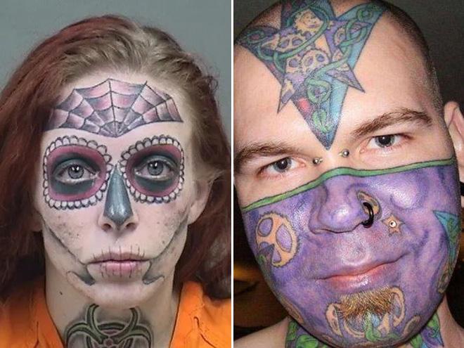 Los tatuajes de mala cara son trágicos y divertidos.