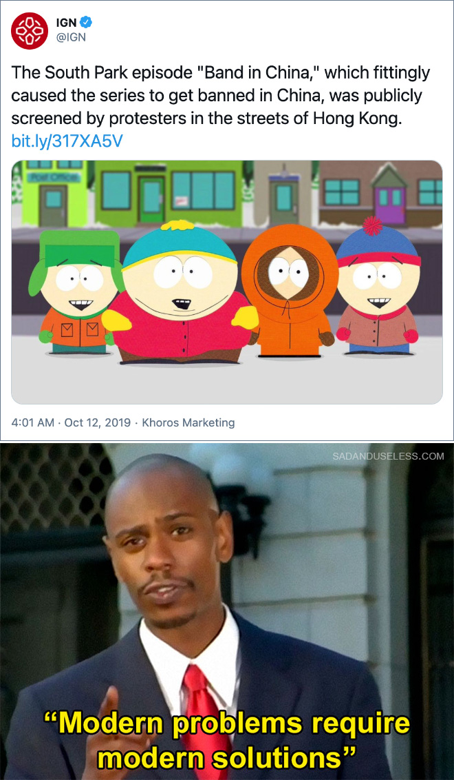 El episodio de South Park