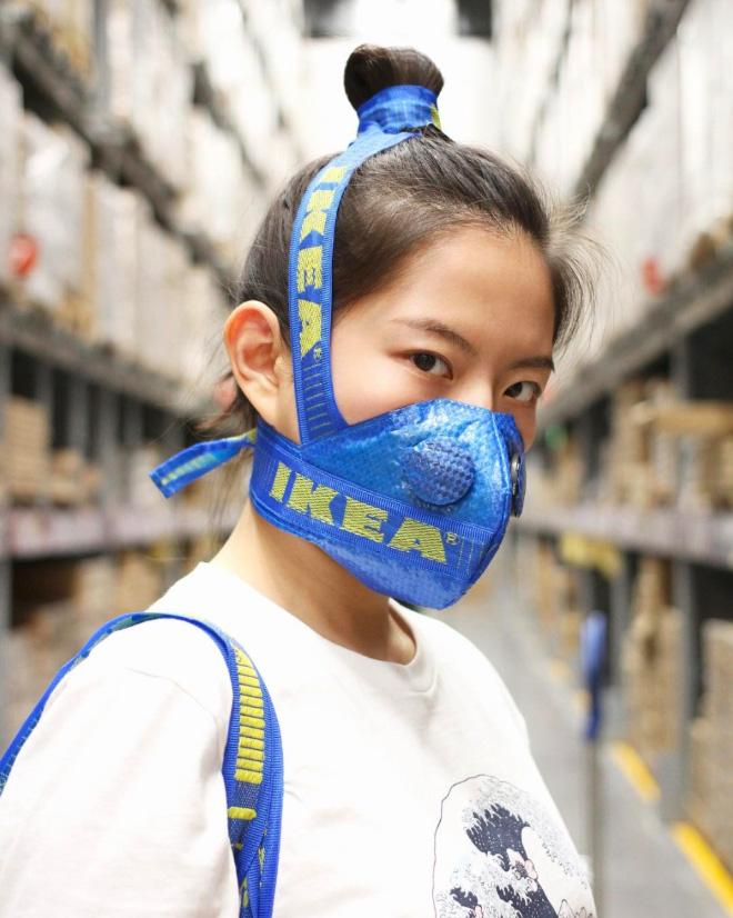 """Máscara de bolso azul IKEA. """"Ancho ="""" 660 """"alto ="""" 826"""