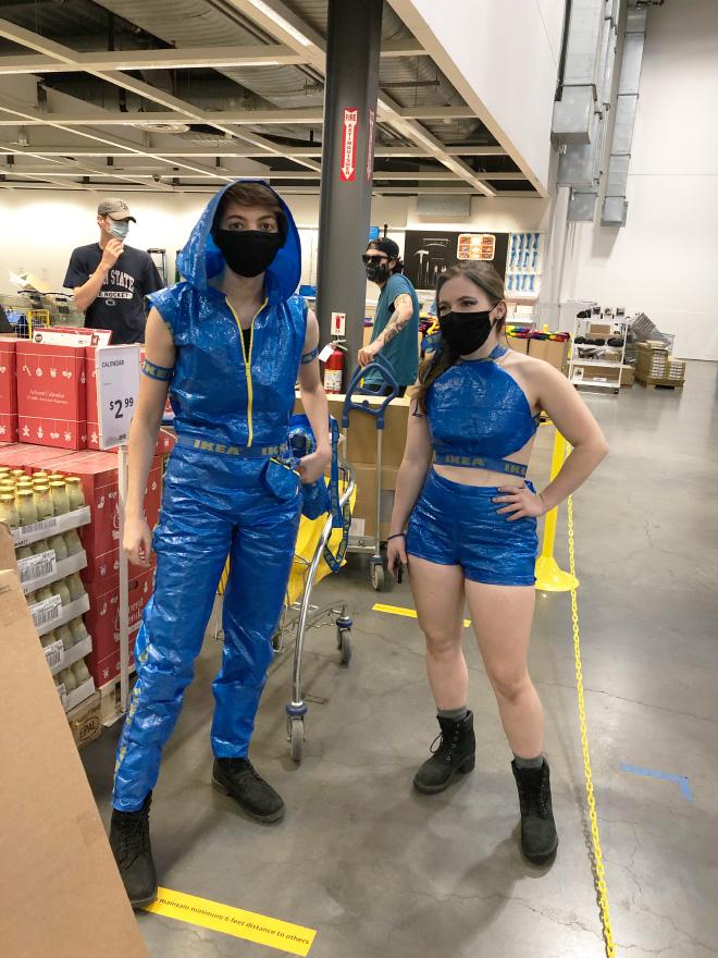 """Bolso azul de moda IKEA. """"Ancho ="""" 660 """"alto ="""" 880"""