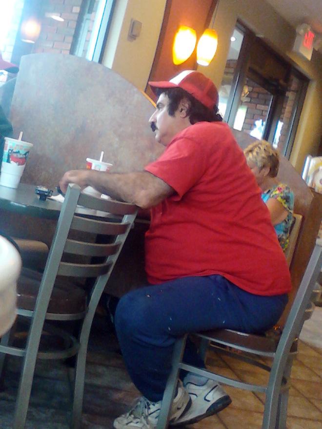 Super Mario en la vida real.