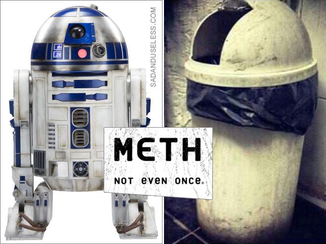 Metanfetamina: ¡ni siquiera una vez!