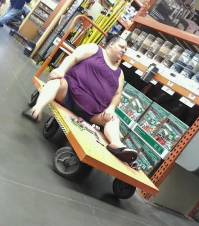 La gente de Walmart es rara ...