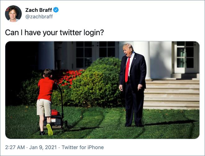¿Puedo tener su ID de Twitter?