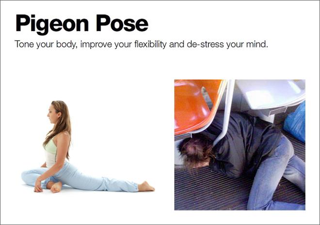 Yoga borracho.