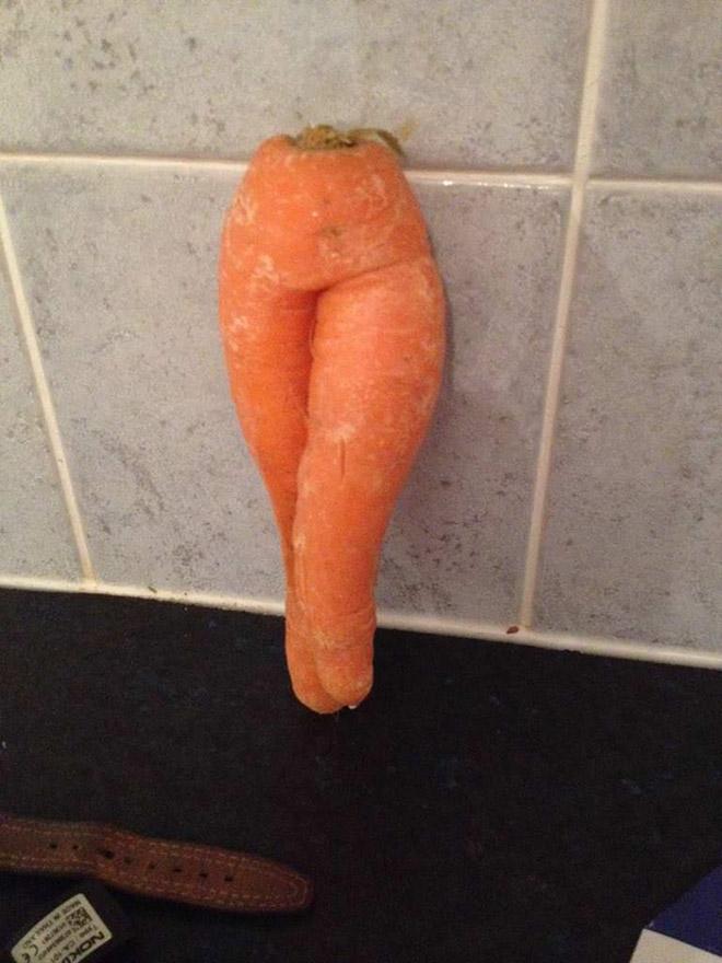 Zanahoria sexy.