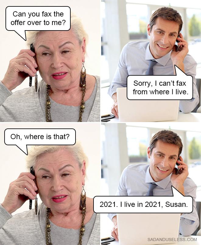 ¿Me pueden enviar la oferta por fax?