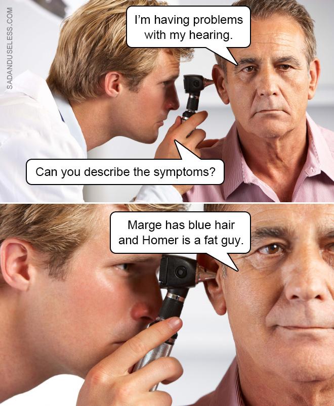 ¿Puede describir los síntomas?