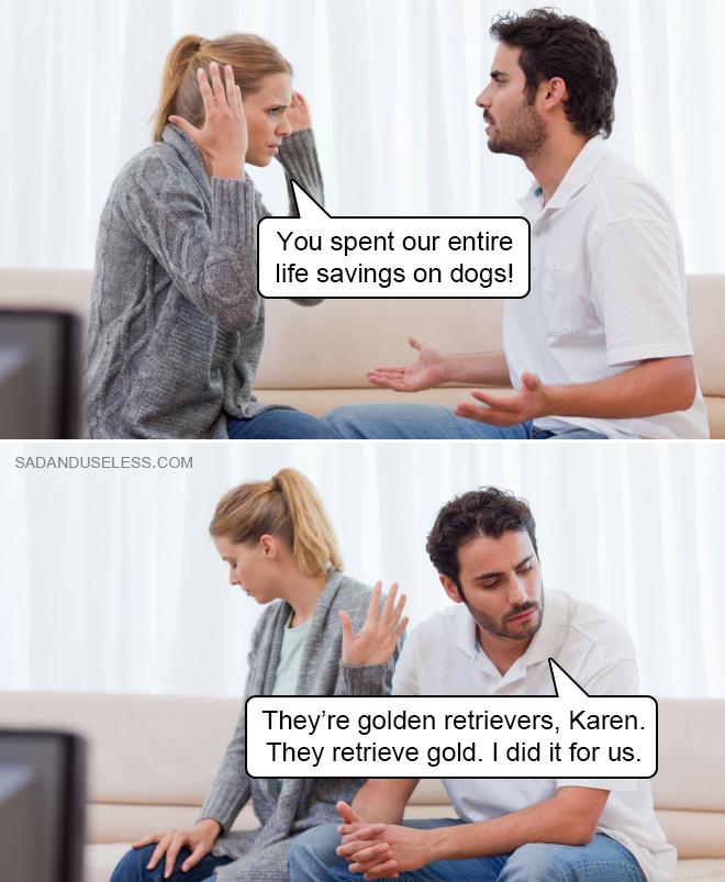 Lo hice por nosotros, Karen.