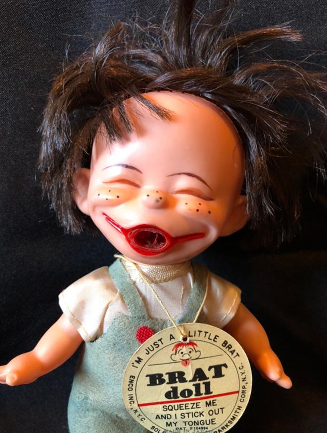Muñeca espeluznante.