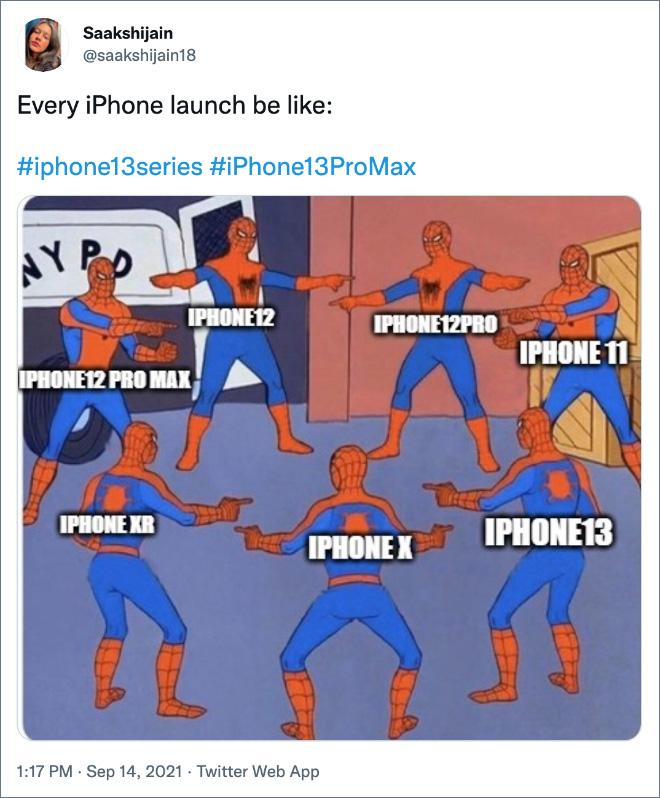 Cada lanzamiento de iPhone.