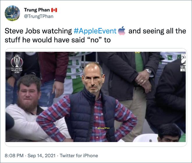 A Steve Jobs no le hace gracia.