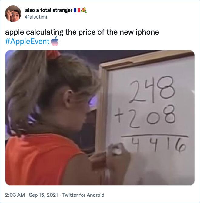 Apple calcula el precio del nuevo iPhone.
